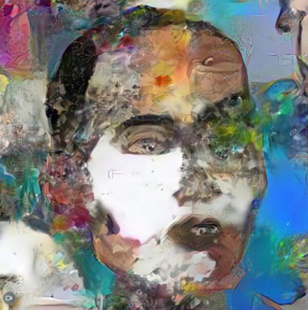 AIロボットSophiaのアート作品のNFT